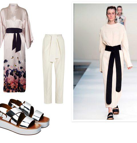 How to wear: de kimono