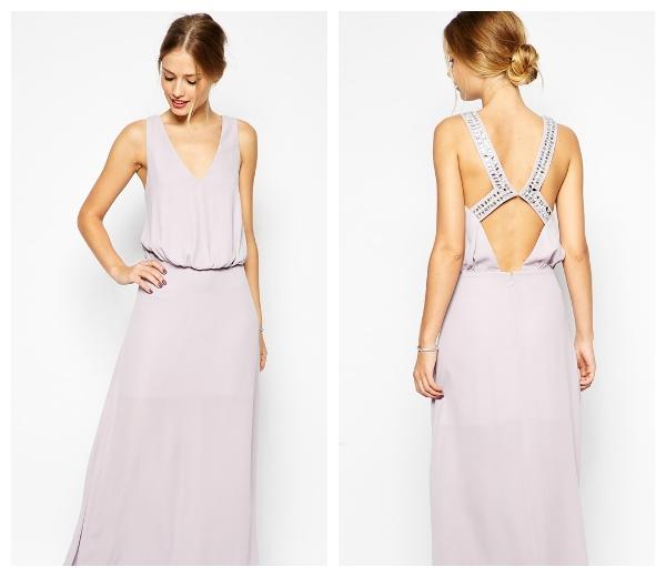 Embellished Back Maxi Dress €71