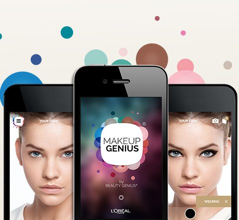 We love: een app om make-up uit te testen