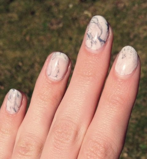 How to: marmer nail art