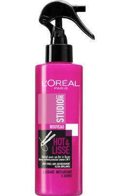 Hot & Lisse heatprotector L'oréal 5,99