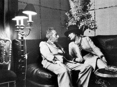 Jean Cocteau en Coco Chanel