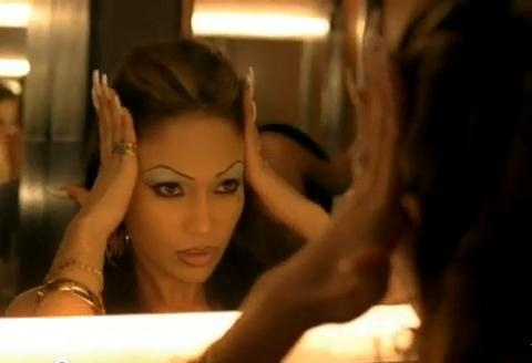 Jennifer Lopez als chola in 'Get Right' uit 2005