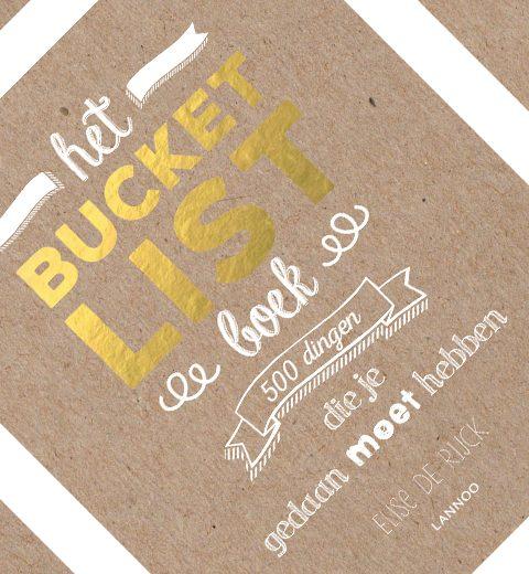 We love: Het Bucketlist Boek