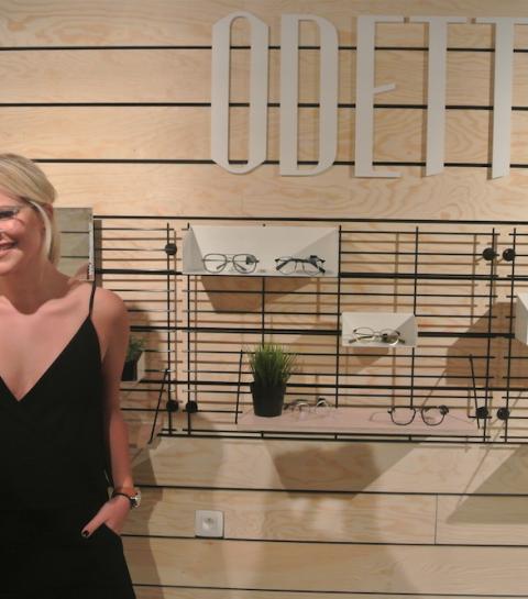 Interview: Eline De Munck lanceert Odette Lunettes