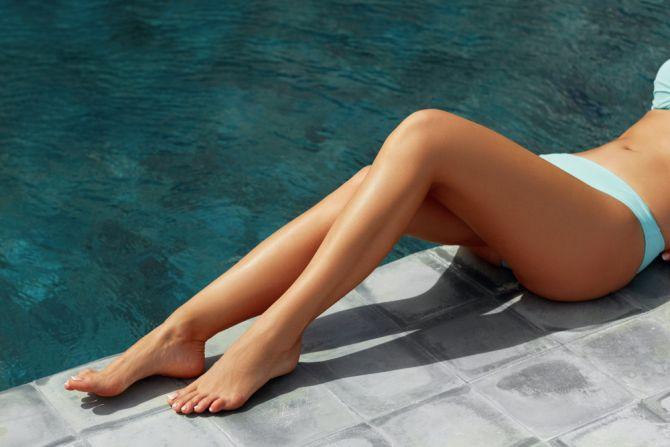 waxen ontharen zwembad