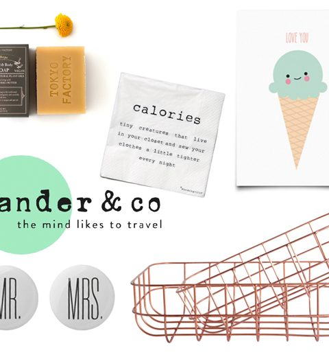Webshop we love: Wander & Co