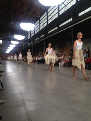 3.  Opening show experimentele rokken en jurken Bachelor 1