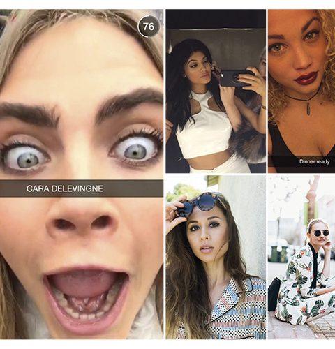 10 modemensen om te volgen op Snapchat