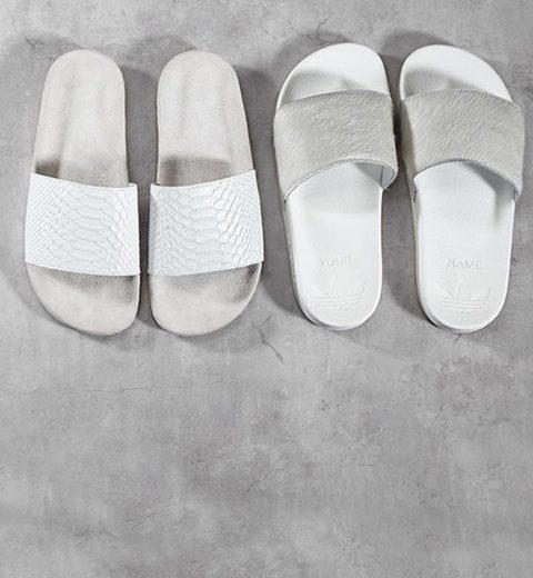 Personaliseer je eigen Adidas Adilette slippers