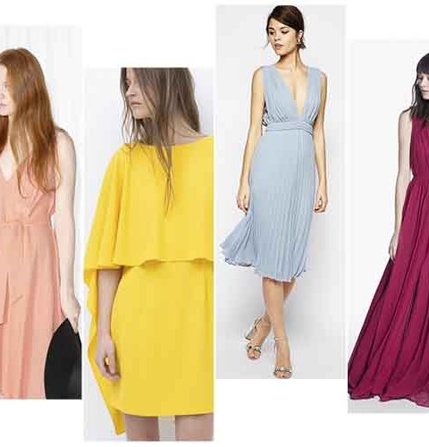 Tien bruidsmeisjes jurken onder €150