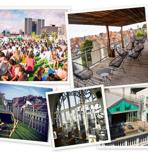 Top 5 rooftop bars in Brussel