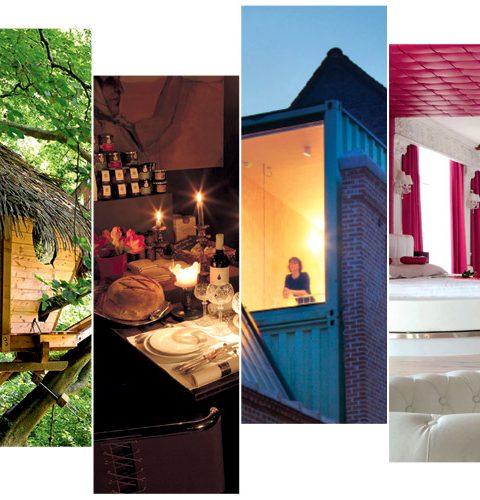 6 originele en romantische trips in eigen land