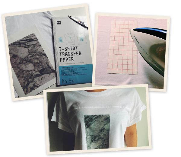 diy t-shirt collage