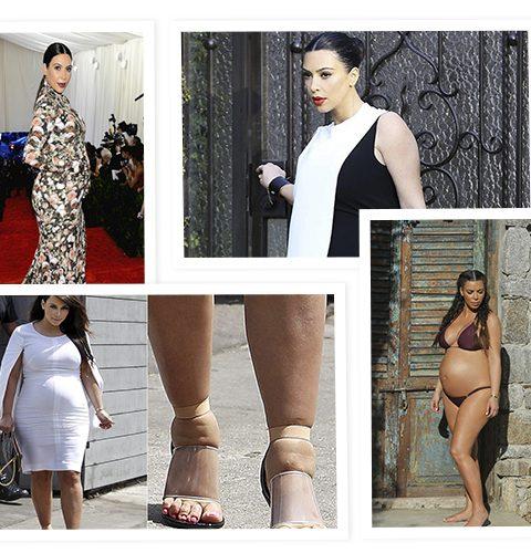 Kim Kardashians meest besproken zwangere looks