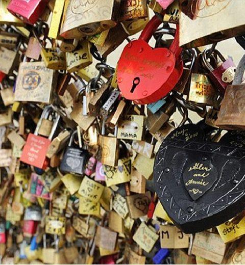 Waar kan je nog een liefdesslot ophangen?