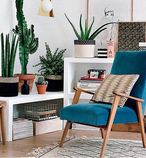 Interieurtip. Indoor plantenhoekje