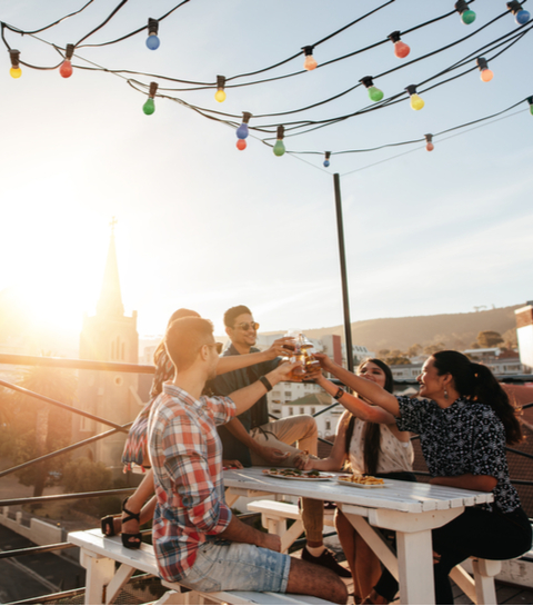 Top 5 rooftop bars in Brussel