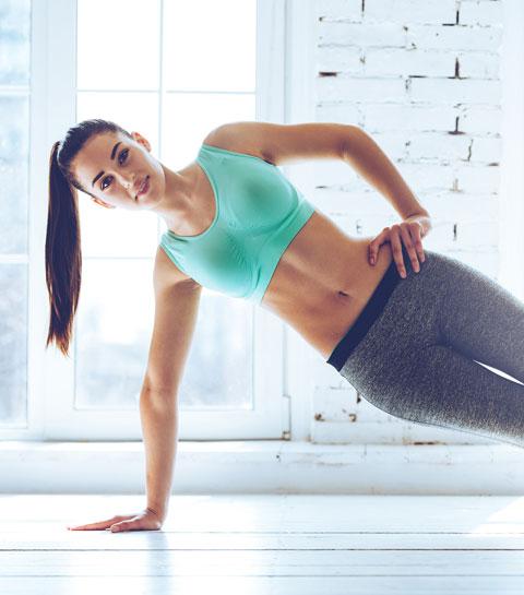 ELLE Workout: 4 oefeningen voor een slankere taille