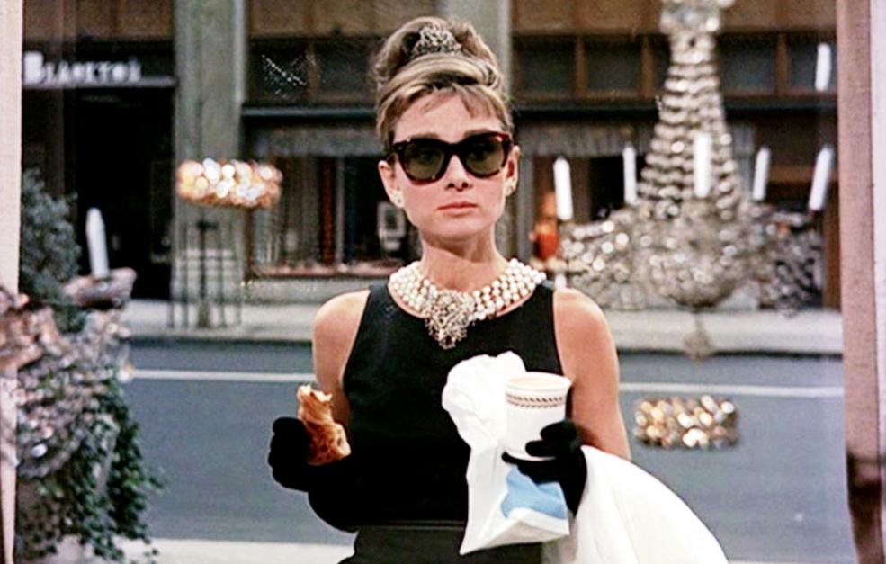 Als Holly Golightly in Breakfast at Tiffany's (1961)