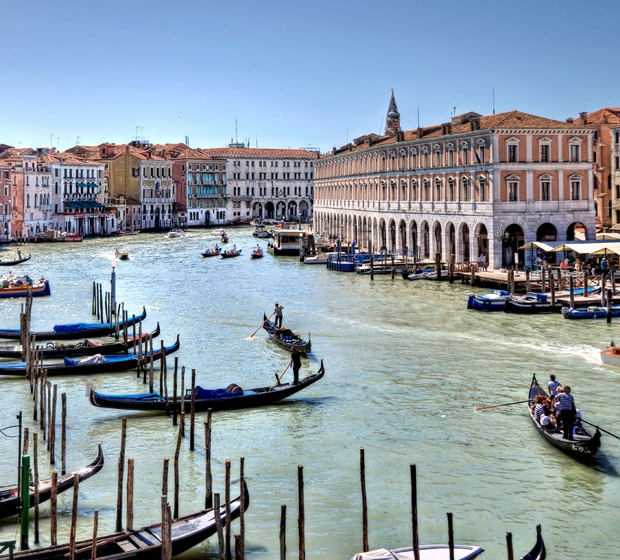 Venice Grand Canal from Hotel Ca' Sagredo