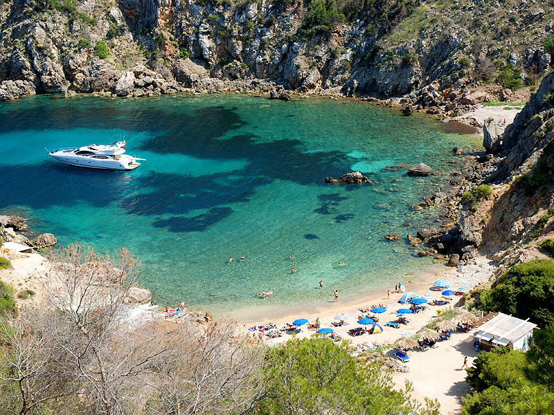 caladenserra Ibiza hotspots verborgen baaien