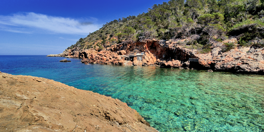 calaxuclar Ibiza hotspots verborgen baaien