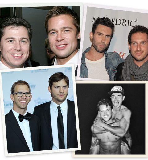 Top 10 opvallendste celeb broers