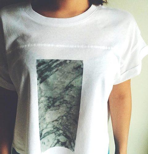 DIY: marmer op je t-shirt