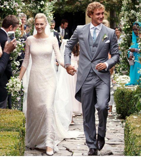 Royal wedding: dit zijn alle bruidsjurken van Beatrice Borromeo