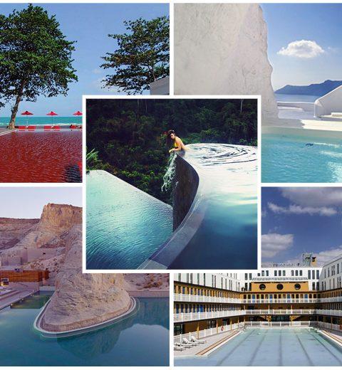 10 zwembaden om bij weg te dromen