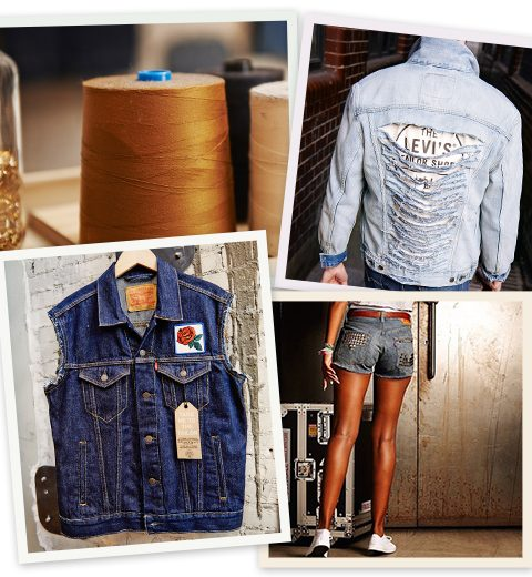 Personaliseer jouw denim in de Levi's Tailor Shop