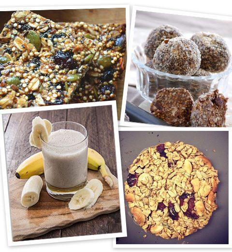 Recept: 4 energierijke en gezonde snacks