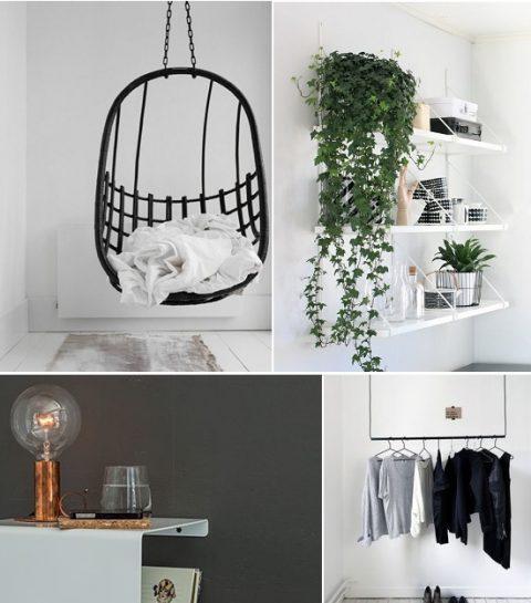 Shopping. 7 x tips voor het inrichten van een kleine kamer