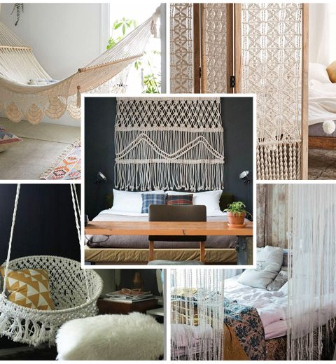 Pinspiration: macramé in huis