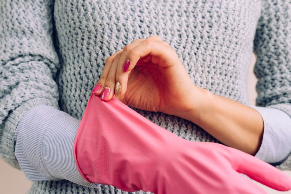 handschoenen nagels beschermen
