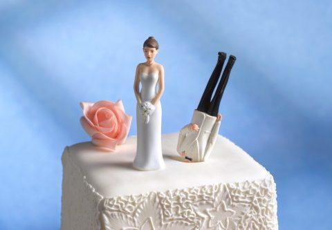 10 vreemde feiten die een echtscheiding voorspellen