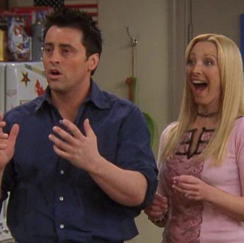 Daarom werden Phoebe en Joey nooit een koppel