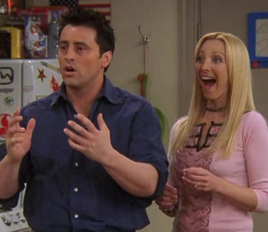 Joey Phoebe geen koppel daarom