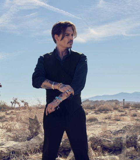 WATCH: Johnny Depp voor Dior