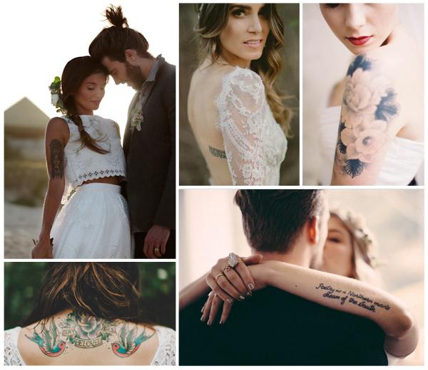 Tattoo bruiden