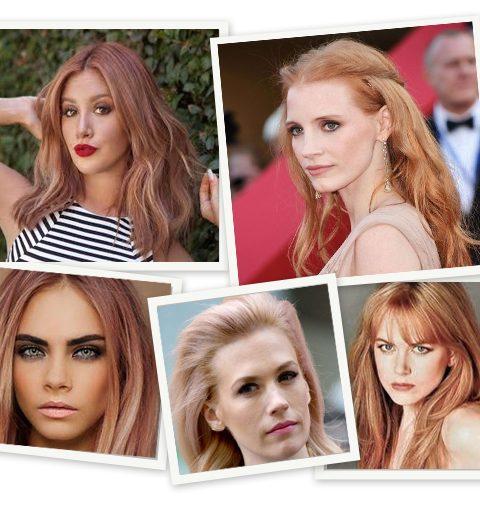 Trendkleur: rosé blond