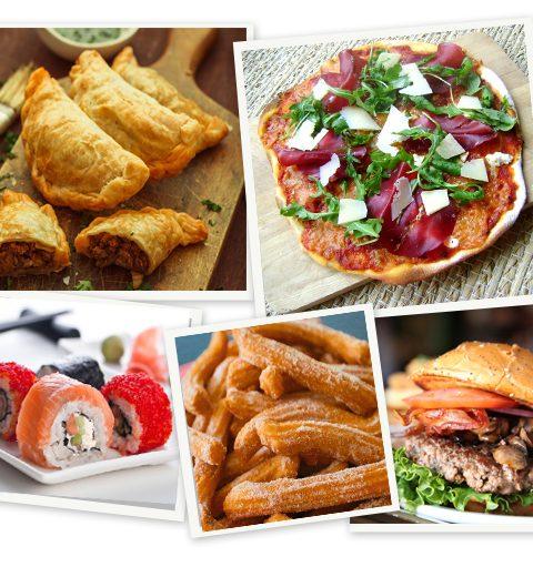Wat zijn de populairste gerechten ter wereld?