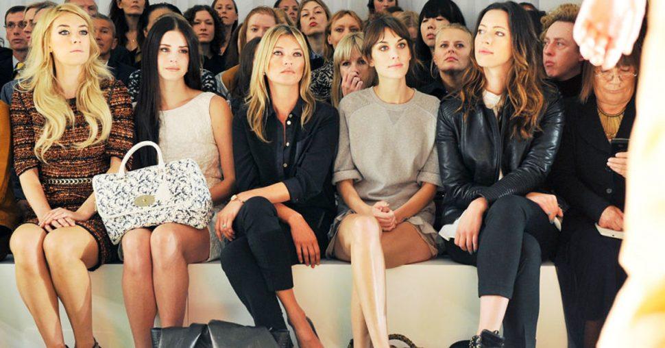 fashion week front row etiquette