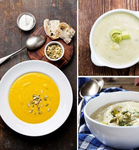 5 x soepen met herfstgroenten