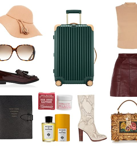 Ik ga naar Milaan en neem mee…