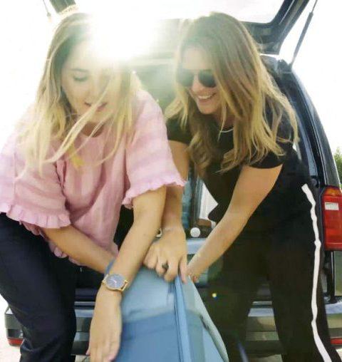 Op vakantie vertrekken: maar hoe krijg je nu alle koffers in de auto?