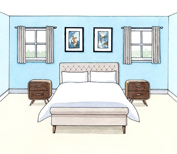 10 deco tips voor een goede nachtrust - Deco voor volwassen kamer ...