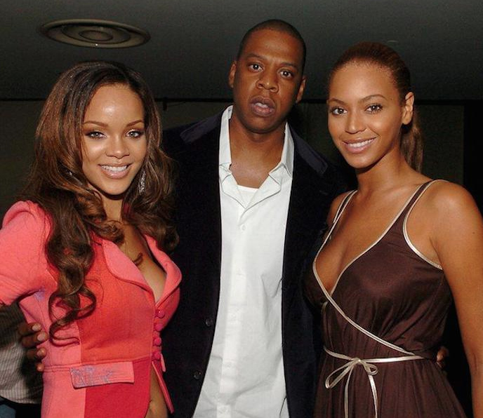 JayZ Beyoncé Rihanna affaire