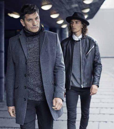 Koen en Jolan De Bouw samen in modecampagne